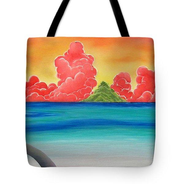 Paradise Panorama Tote Bag