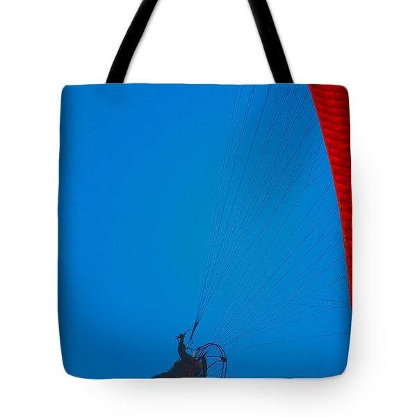 Paragliding Tote Bag by Karol Livote
