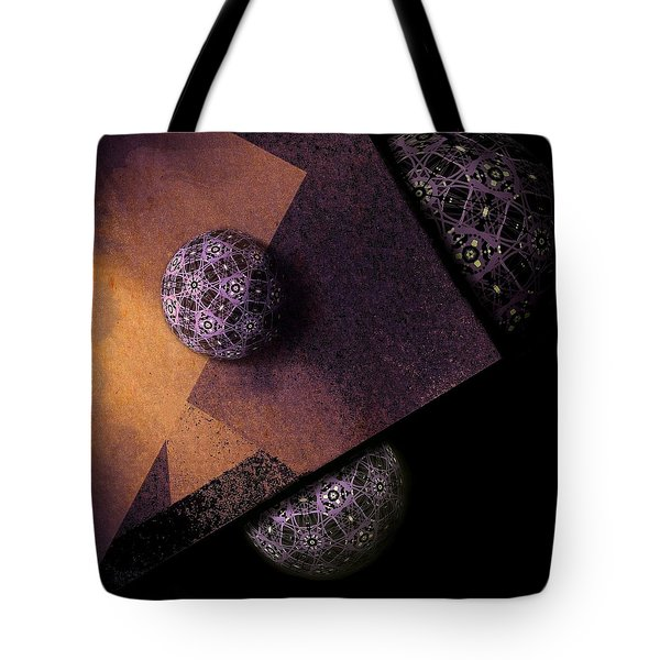 Tote Bag featuring the digital art Paragon by Susan Maxwell Schmidt