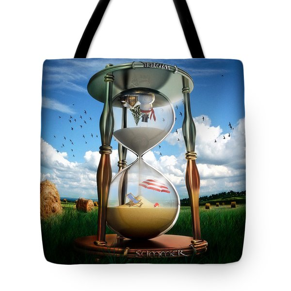 Parallel And Complementary Tote Bag