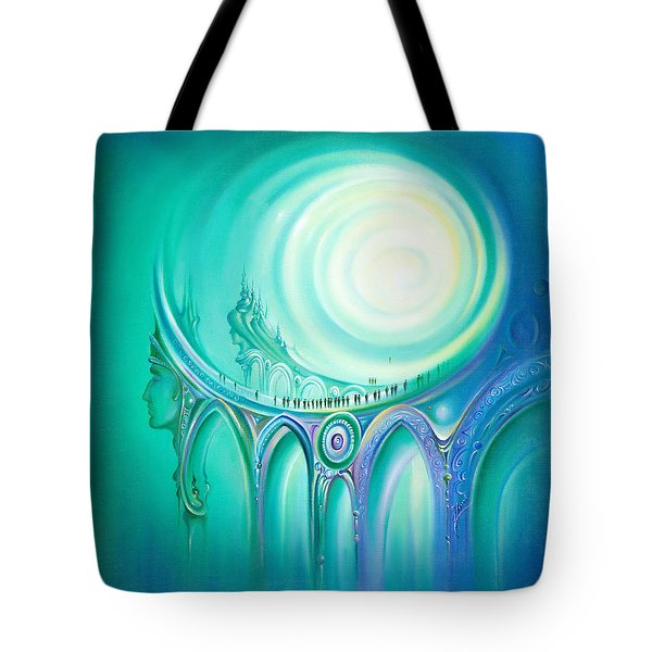 Parallel Ways Tote Bag
