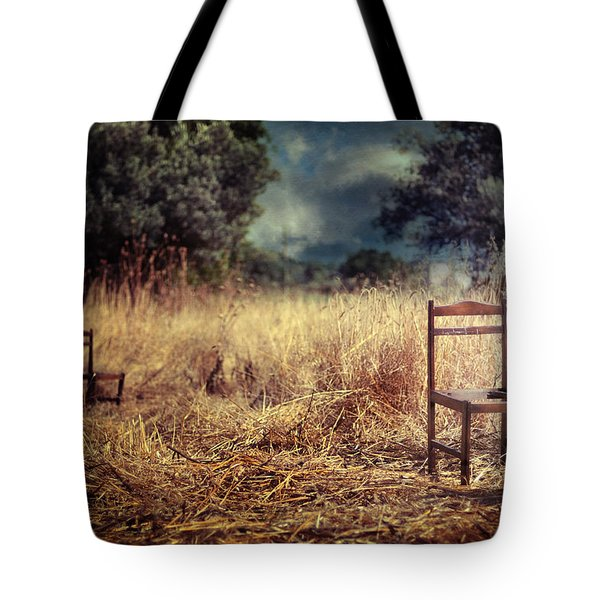 Paralyzed Tote Bag by Taylan Apukovska