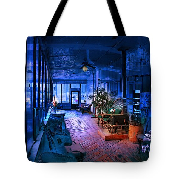 Paranormal Activity Tote Bag by Gunter Nezhoda