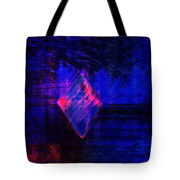 Tote Bag featuring the digital art Parched Rainforest by Kylie Sabra