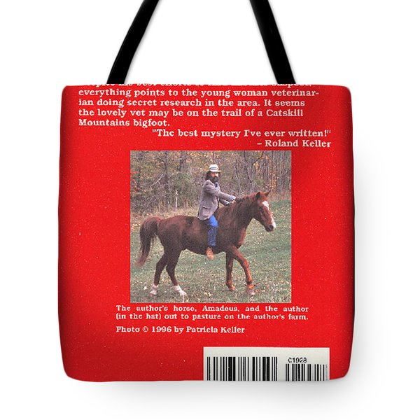 Pardee Holler The Back Cover Tote Bag