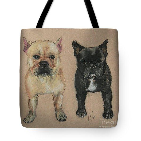 Pardon My French Tote Bag by Cori Solomon