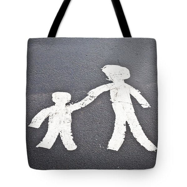 Parent And Child Marking Tote Bag