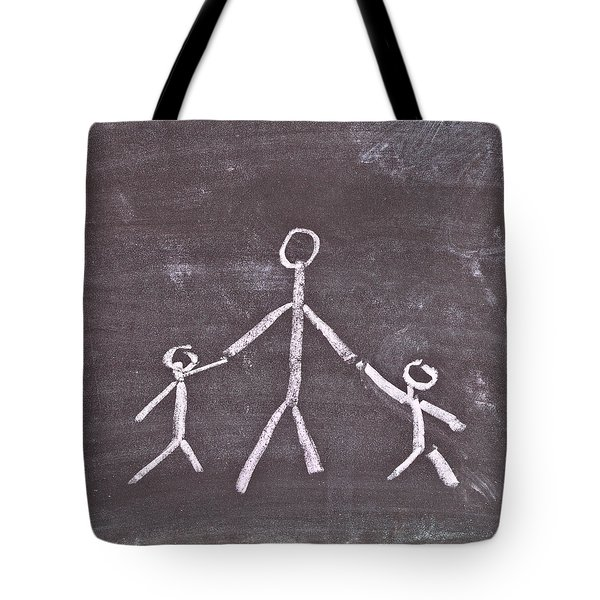Parent And Children Tote Bag by Tom Gowanlock