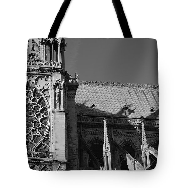 Paris Ornate Building Tote Bag
