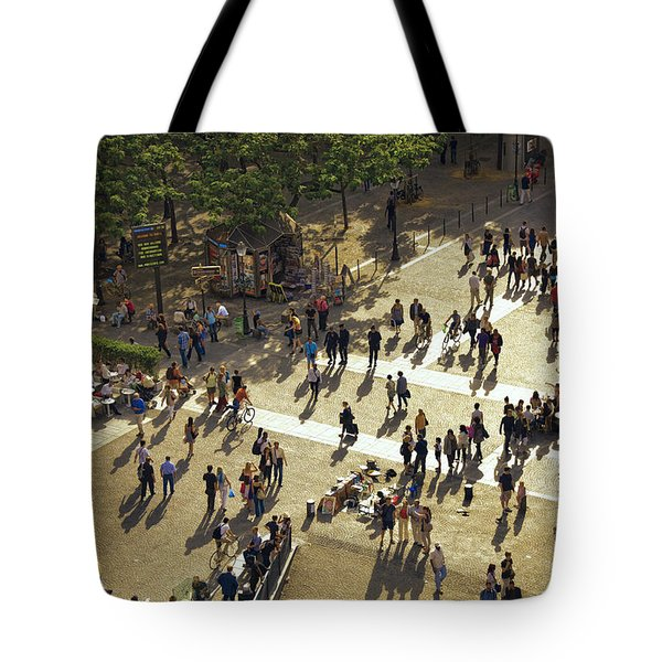 Tote Bag featuring the photograph Paris Afternoon by John Hansen
