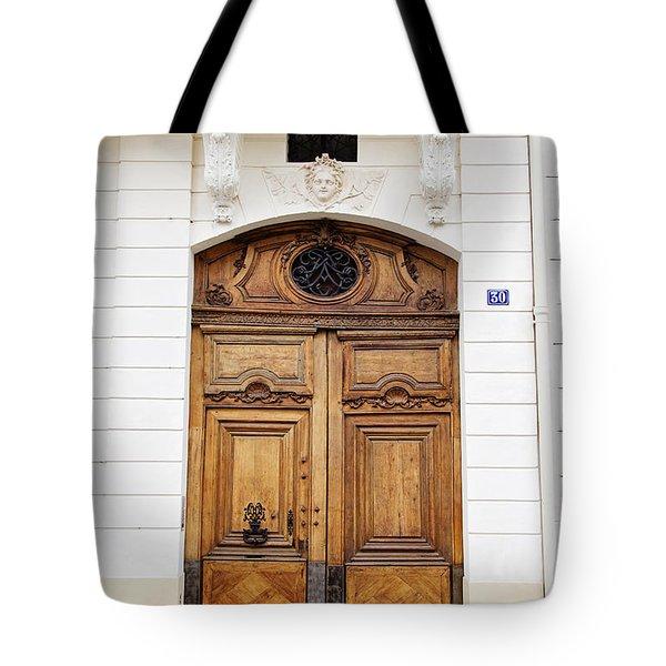 Paris Door - No. 30 - Paris Photography Tote Bag