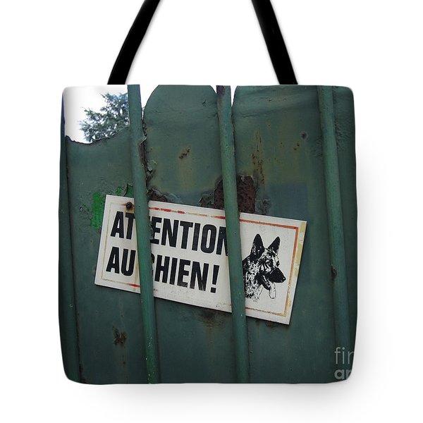 Paris - Farm Dog Tote Bag