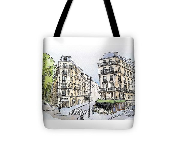 Paris Gare Du Nord Tote Bag by Marie Minyoung Jeon