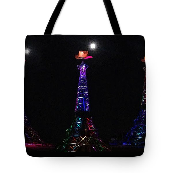 Paris Hat Trick Tote Bag