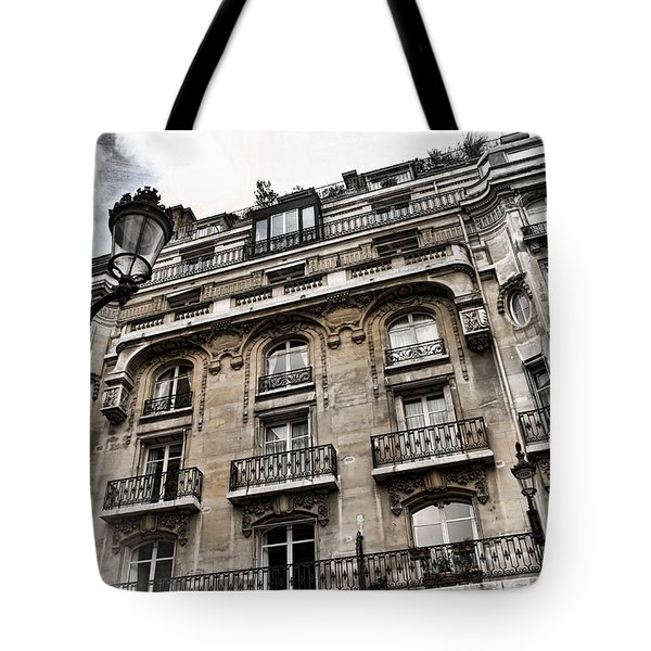 Paris Hotel Tote Bag by Evie Carrier
