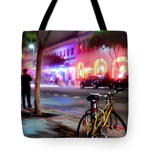 Tote Bag featuring the photograph Paris In Santa Monica by Jennie Breeze