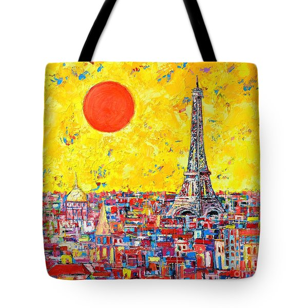 Paris In Sunlight Tote Bag