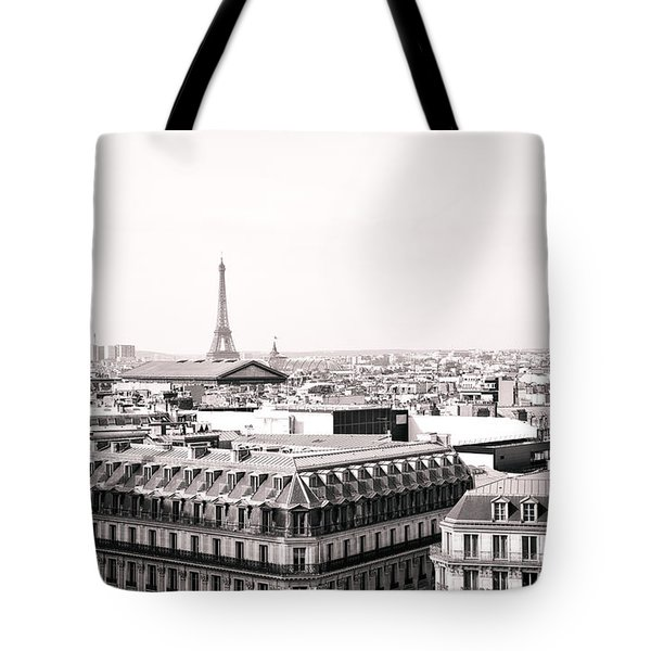 Paris In The Afternoon Tote Bag by Vivienne Gucwa