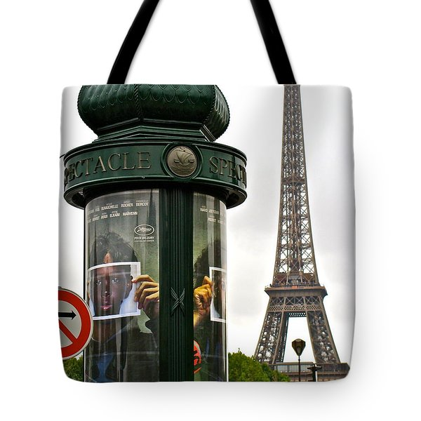 Tote Bag featuring the photograph Paris by Ira Shander