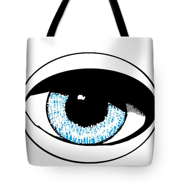 Tote Bag featuring the digital art Paris Jackson - Colours 2 by Mudiama Kammoh