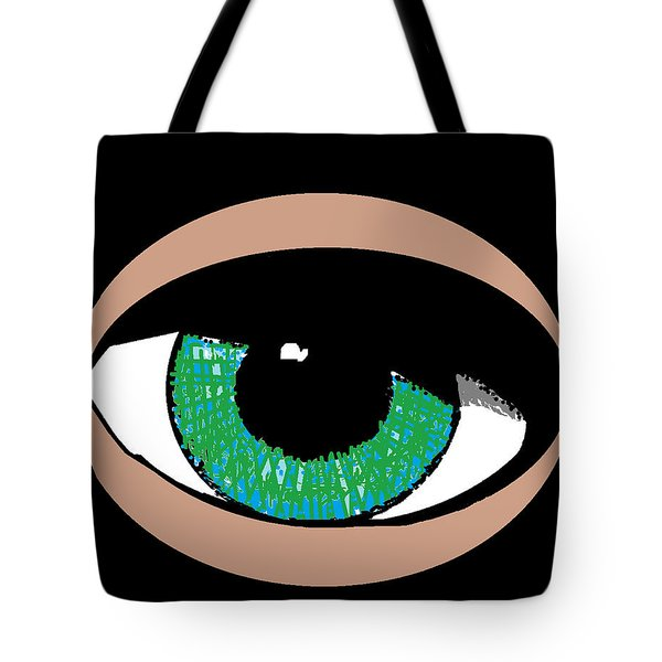 Tote Bag featuring the digital art Paris Jackson - Colours by Mudiama Kammoh