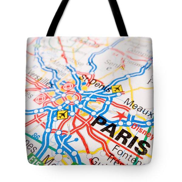 Paris Tote Bag by Jose Elias - Sofia Pereira