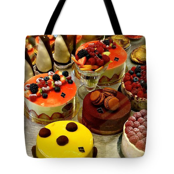 Paris Pastry Pause Tote Bag
