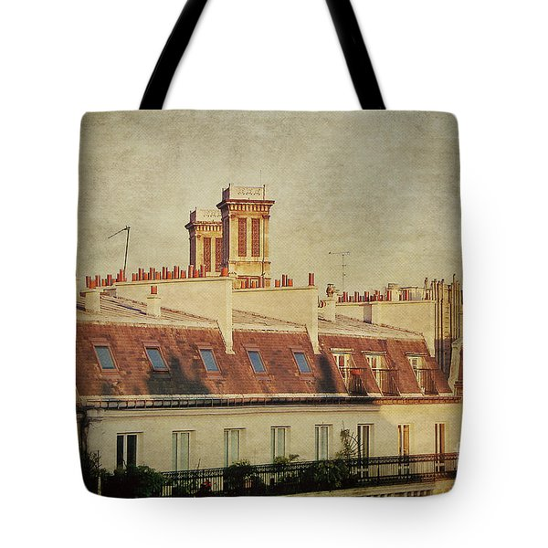 Paris Rooftops Tote Bag