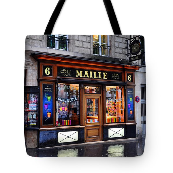 Paris Shop Tote Bag
