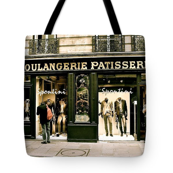 Tote Bag featuring the photograph Paris Waiting by Ira Shander
