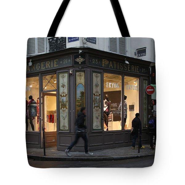 Parisian Evolution Tote Bag by Randi Shenkman