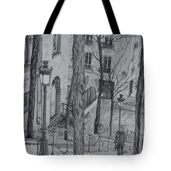 Parisienne Walkways Tote Bag