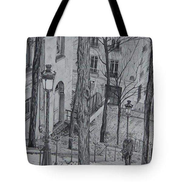Parisienne Walkways Tote Bag