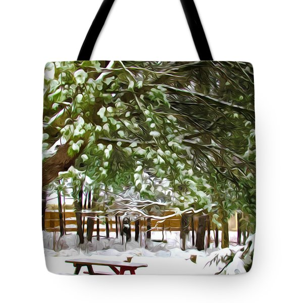 Park 1 Tote Bag by Lanjee Chee
