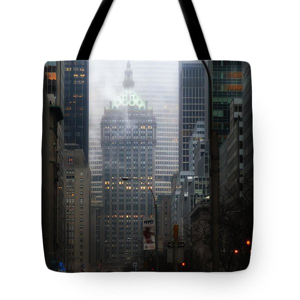 Park Avenue Dawn In Color Tote Bag