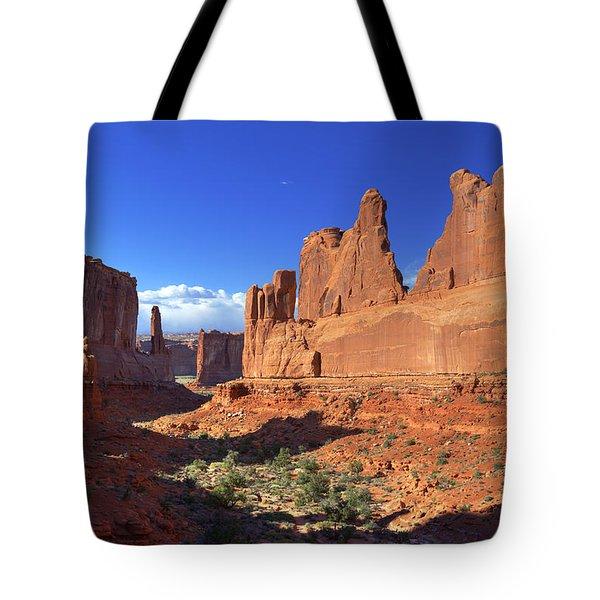 Park Avenue Sunset Tote Bag