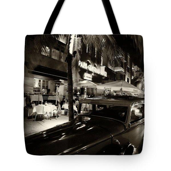 Park Central Hotel Tote Bag