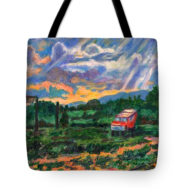 Park In Floyd Tote Bag by Kendall Kessler