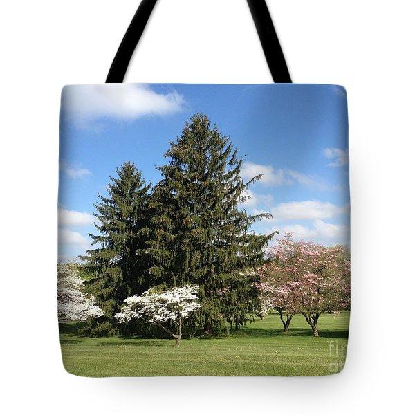 Tote Bag featuring the photograph Cedar Beach Park  by Jeannie Rhode
