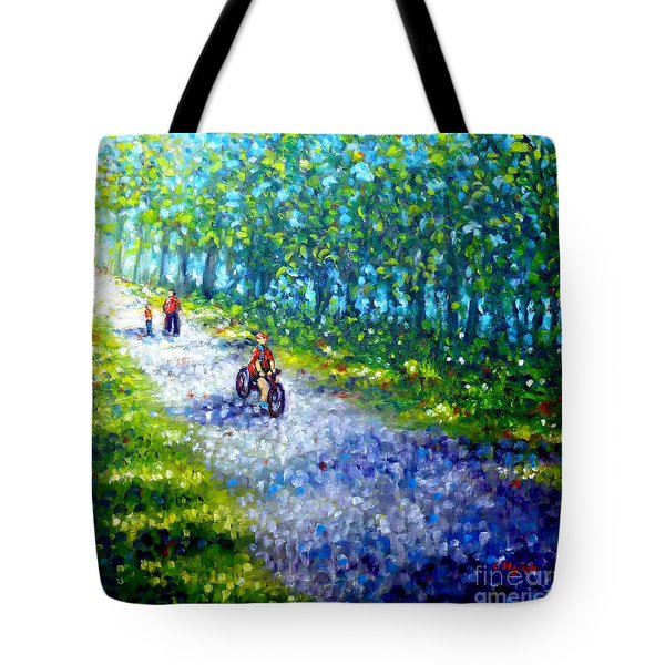 Park On St Helen Island - Montreal Tote Bag