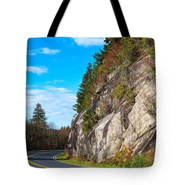 Park Road Tote Bag by Melinda Fawver