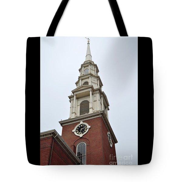 Park Street Church Boston Tote Bag