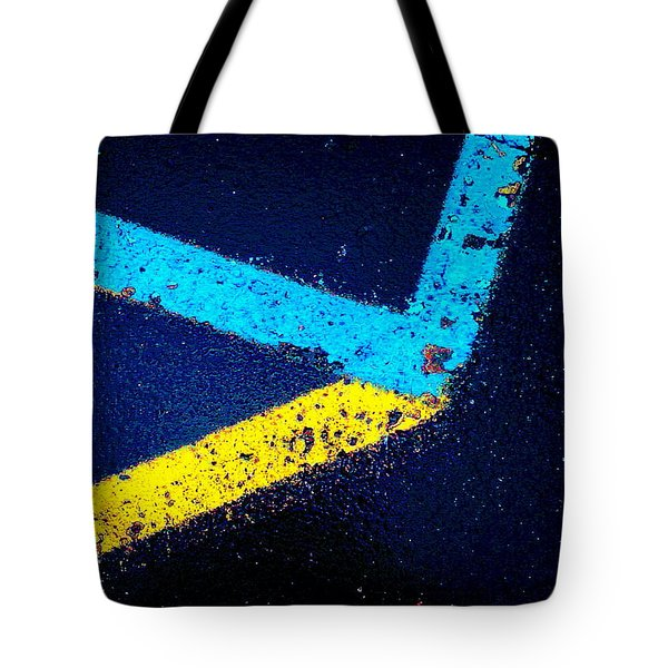 Tote Bag featuring the photograph Parking Lot by Daniel Thompson