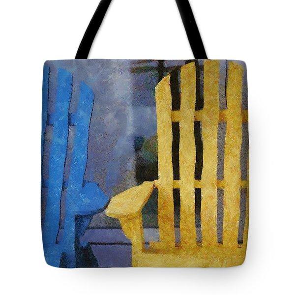 Parking Spot Tote Bag by Jeff Kolker
