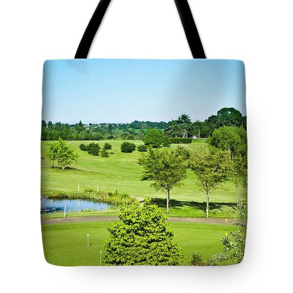 Parkland Tote Bag by Tom Gowanlock