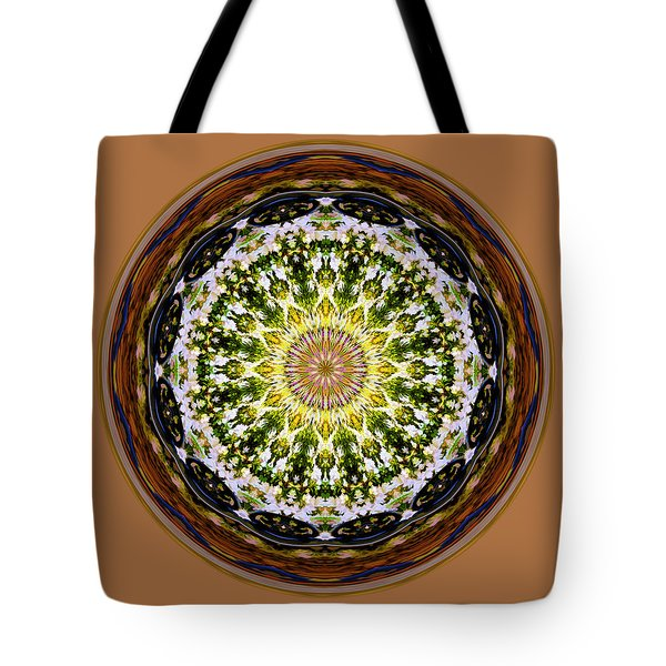 Parkside Mandala Tote Bag