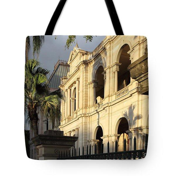 Parlament House In Brisbane Australia Tote Bag