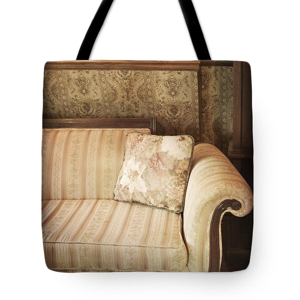 Parlor Seat Tote Bag by Margie Hurwich