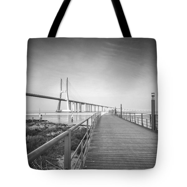 Parque Das Nacoes In The Twiight Tote Bag