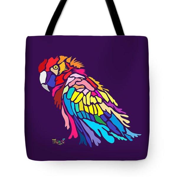 Parrot Beauty Tote Bag